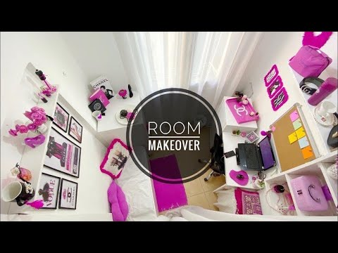 EXTREME ROOM MAKEOVER | ON BUDGET | CHANEL inspired