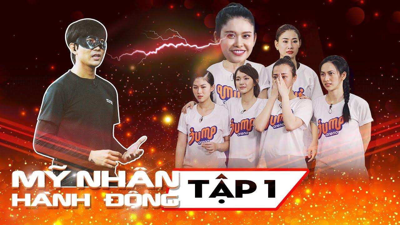 Mỹ Nhân Hành Động Tập 1   Trương Quỳnh Anh bất ngờ khi chạm mặt Tim trong cùng một chương trình