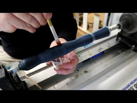 Custom Carbon Fiber Grips How To Custom Rod Building