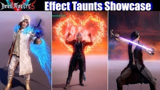 DMC 5 Bloody Palace Rewards / Special Taunts (Dante Nero V) - Devil May Cry 5 2019