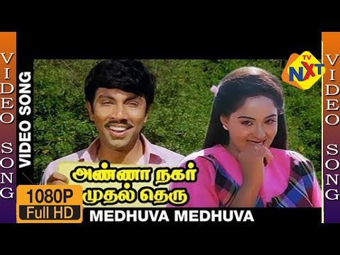 Love Song : Sathyaraj & Radhika : Medhuva Meduva Video Song