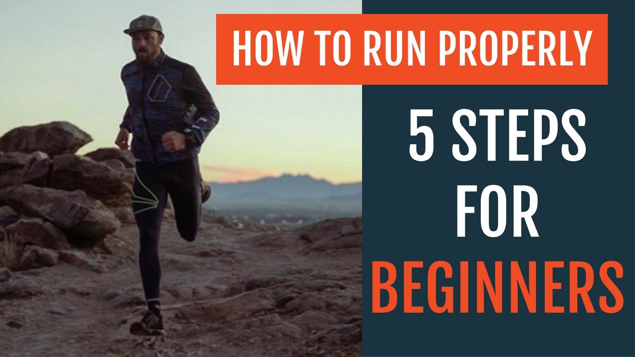 how to run properly for beginners youtube
