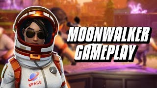 NEW LEGENDARY MOONWALKER GAMEPLAY - Fortnite Battle Royale