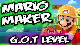 Super Mario Maker Levels || A SONG of ICE and FIRE || Mario Maker Gameplay
