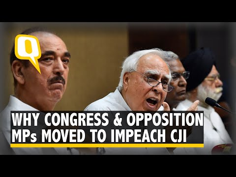 5 Charges That Form The Basis Of Cong-Led Impeachment Motion Against CJI