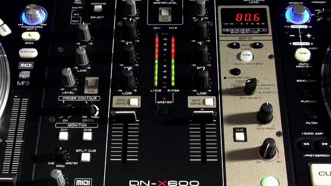 DJ Denon DN-X600