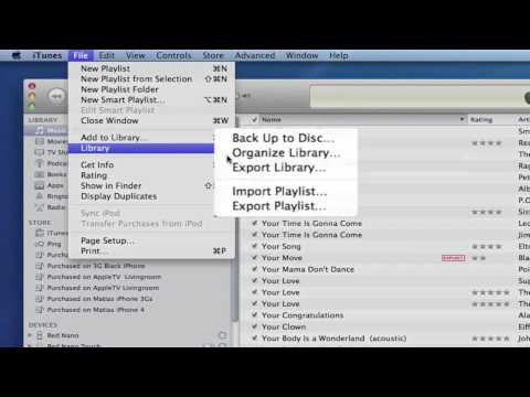 Organize And Consolidate ITunes Media