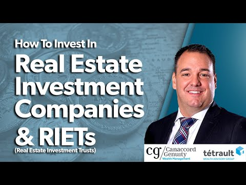 How To Invest in Real Estate Investment Companies & REITS Real Estate Investment Trusts