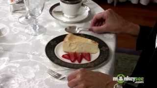 Basic Dining Etiquette - The Dessert and Coffee