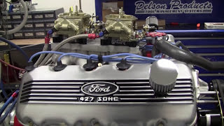 Tom Fry's 427 SOHC Cammer 740HP Dyno Pull | QMP Racing