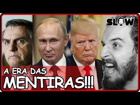 A ERA DAS MENTIRAS!!! | Canal do Slow 64