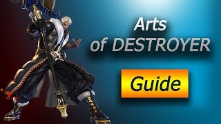 Blade & Soul. Destroyer Animation Canceling Guide - Part 1