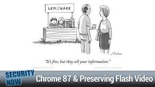 Sunburst & Supernova - Ransomware Task Force, Chrome 87, Firefox Caches, Preserving Flash Video