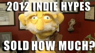 2012 Indie Sales and Fails - Actual Sales Numbers