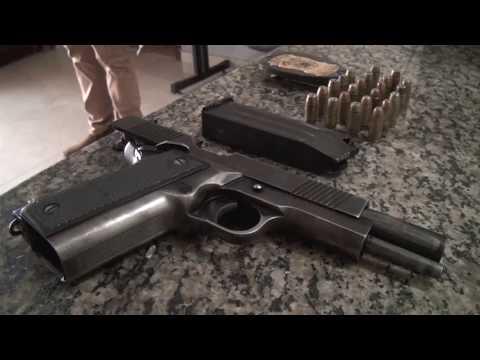 PJC Recupera arma de fogo roubada em Confresa