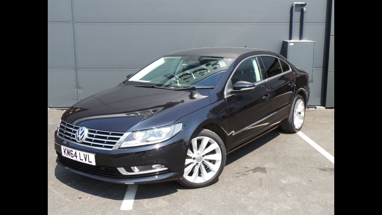 2015 64 volkswagen cc 2 0 tdi 177 bluemotion tech gt 4dr dsg in black youtube. Black Bedroom Furniture Sets. Home Design Ideas