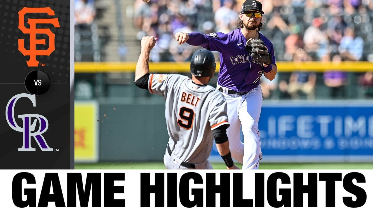 Download Giants vs. Rockies Game Highlights (9/26/21) | MLB Highlights