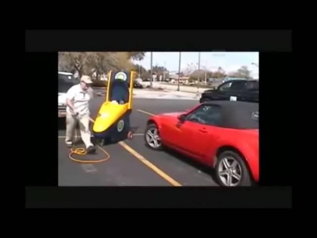 DURAWASH - Rechargable Waterless Car Wash Cart
