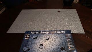 ravensburger krypt puzzle - time lapse...