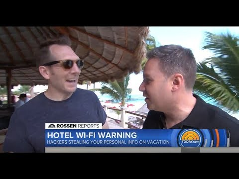 How secure is your Wi-Fi connection at hotels?