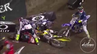 Supercross Crashes 2018 Volume1