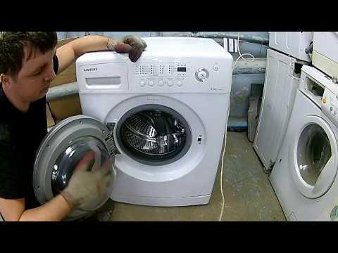 Как разобрать стиральную машину SAMSUNG WF74500SAV