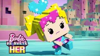 Můžeš změnit hru | Barbie Hrdinka Videohry | Barbie