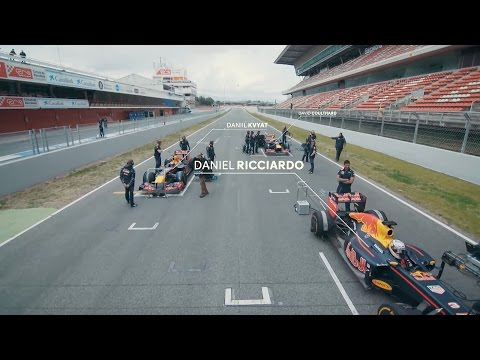 The Battle of the Red Bulls. The RB7 and RB8 at Catalunya