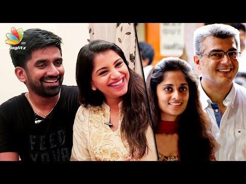 Shalini's ringtone is my song : Music Director Dharan, Deekshitha Interview | Marriage, Thala Ajith