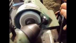 Ремонт головки Т- 40 часть 3 : шлифовка клапанов  головки блока  двигателя т 40