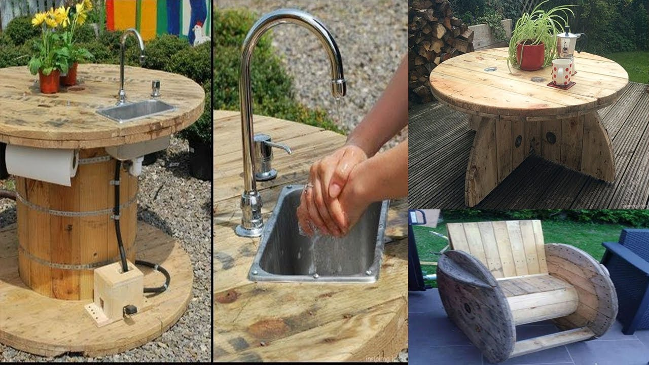 Diy Recycled Cable Wood Spool Ideas Furniture Ideas From Wooden