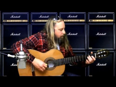 Judas Priest Angel Fingerstyle With SOLO