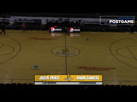 NBLC Playoffs Game 1 St John's Edge vs London Lightning | April 17th, 2018 | NBL Canada