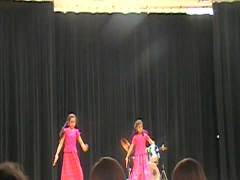 Aurora Quest Academy Talent Show 2010 - Keerti & Anusha Performing Indian Classical Dance