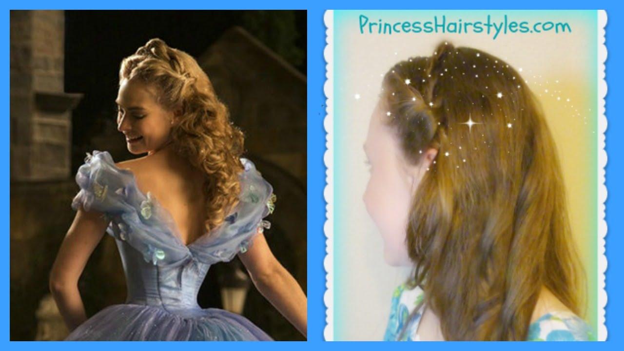 disney's cinderella hair tutorial