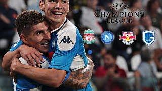 Gambar cover PROMO SSC Napoli | Liverpool - FC Salzburg - KRC Genk Champions League 2019/20 HD