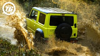 OFF ROAD: Suzuki Jimny VS Dacia Duster | Top Gear