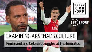 Ferdinand: Since when has there been Arsenal DNA? | Xhaka, Emery, and club culture #EarlyKickOff