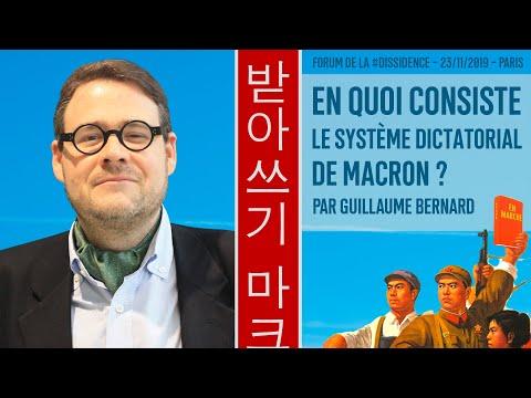 En marche vers un régime tyrannico-oligarchique - Guillaume Bernard au Forum de la Dissidence 2019