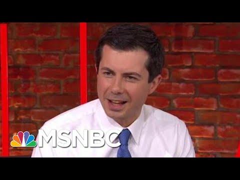 Mayor Pete Buttigieg Reacts To President Donald Trump's Rally Remarks | Morning Joe | MSNBC