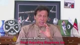 Imran Khan's view for Ahmadis Regarding Blasphemy Law of Pakistan.