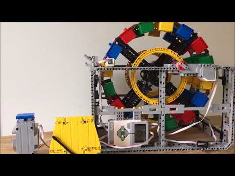LEGO Lot of 2 Light Bluish Gray 1x5x3 Technic Mindstorms Connector Blocks