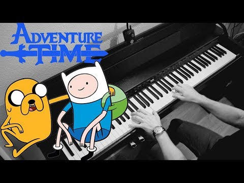 "ADVENTURE TIME - Series Finale - ""Time Adventure"" (Piano Cover)"