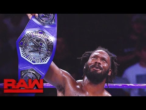 A look back at Rich Swann's WWE Cruiserweight Title victory: Raw, Dec. 5, 2016