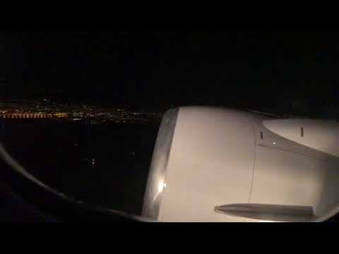 United Airlines B737-900 SFO To ATL Night Takeoff From San Francisco