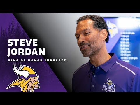 Behind The Scenes: Steve Jordan Finds Out He's Entering The Minnesota Vikings Ring of Honor
