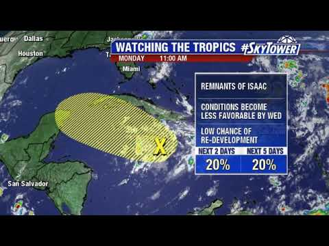 Tropical weather forecast: September 17, 2018