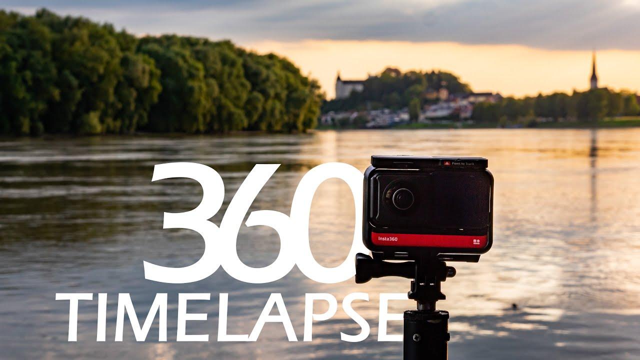 360 Timelapse reframed | Insta360 ONE R