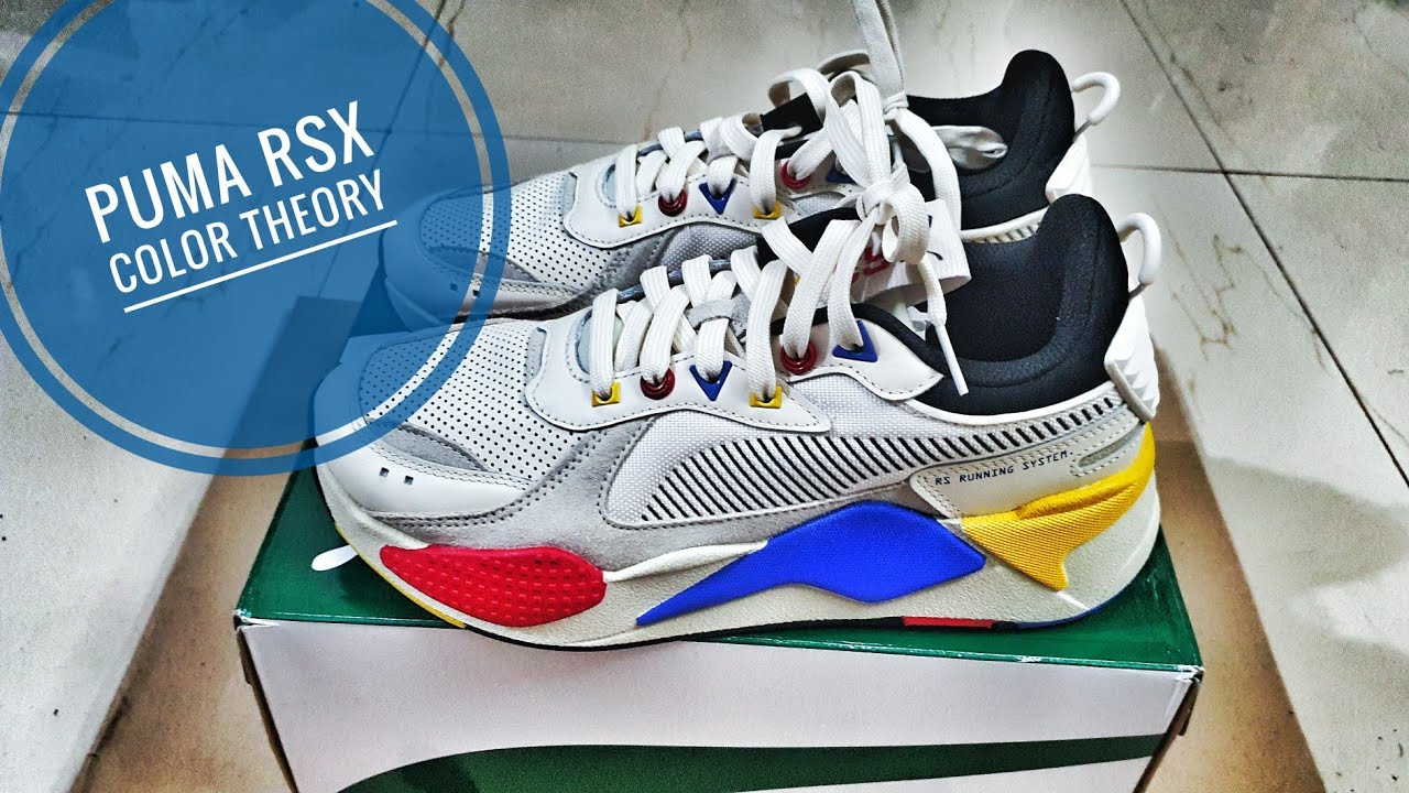 Puma RSX Color Theory Unboxing