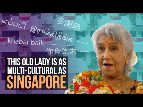 This Old Lady Is As Multi Cultural As Singapore